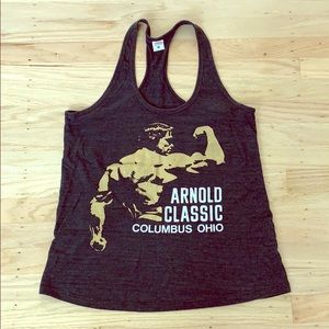 Homage Arnold workout tank top (M)